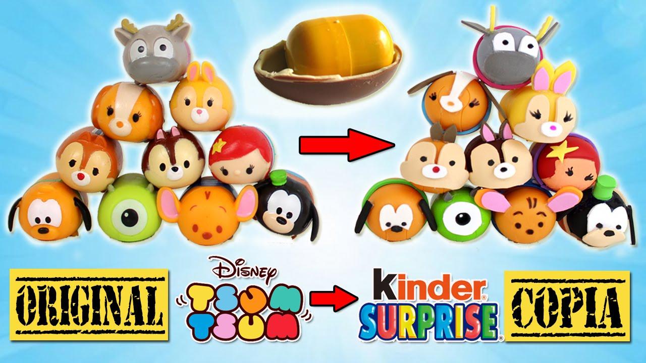 Con Caseros Huevos Huevos Tsum Tsum Tsum Con Con Caseros Caseros KinderManualidades KinderManualidades 0N8wmn