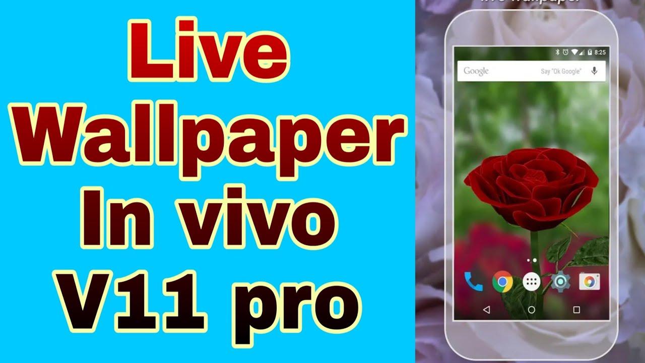 Live Wallpaper Download In Vivo V11 Pro Tachnicalsk Youtube