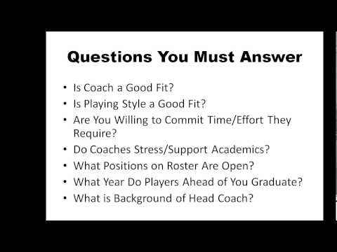 Recruiting Scholarship Tips Long Island College Consultant