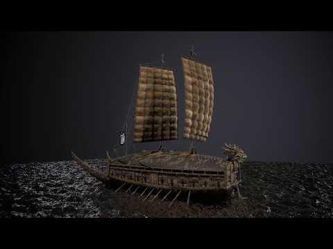 Turtle Ship (Geobukseon - 거북선) by Rafael Operus de los Reyes