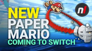 NEW Paper Mario Game Coming to Nintendo Switch - Paper Mario: The Origami King