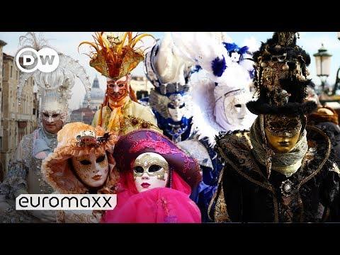 Carnival in Venice Italy   Carnival 2019   Costume Contest