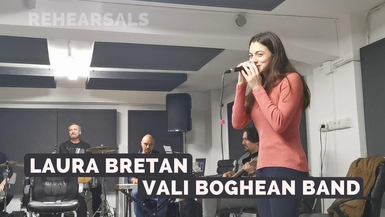 """Laura Bretan & Vali Boghean Band - Rehearsals """"Lie, ciocarlie"""" (04/12/2019)"""