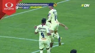 Gol de Martín | América 2 - 2 Pachuca | Copa Mx - Octavos - Cl 19 | Televisa Deportes