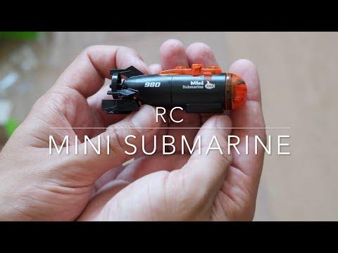 RC mini submarine