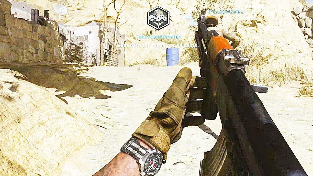 NEW AK-47 Multiplayer Gameplay - Call of Duty: Modern Warfare thumbnail
