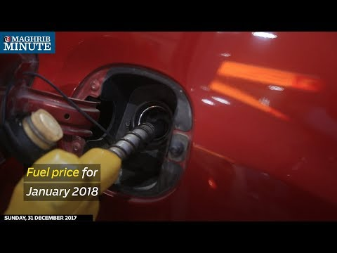 Fuel price for January 2018