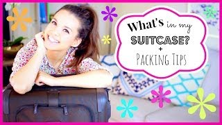 What's In My Suitcase? + Packing Tips!