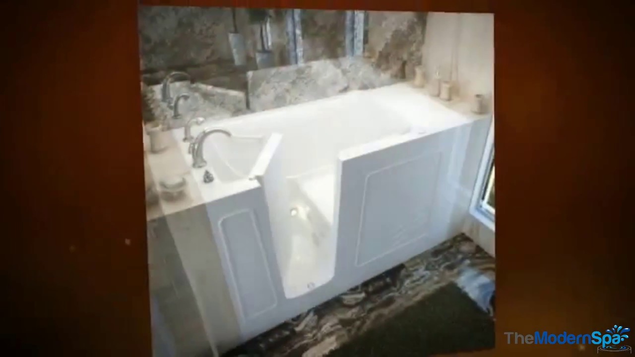 MediTub Walk In ADA Compliant Handicap Accessible Spa Bathtubs