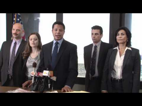 Terrence Howard outtakes from the filming of Law & Order LA Sylmar