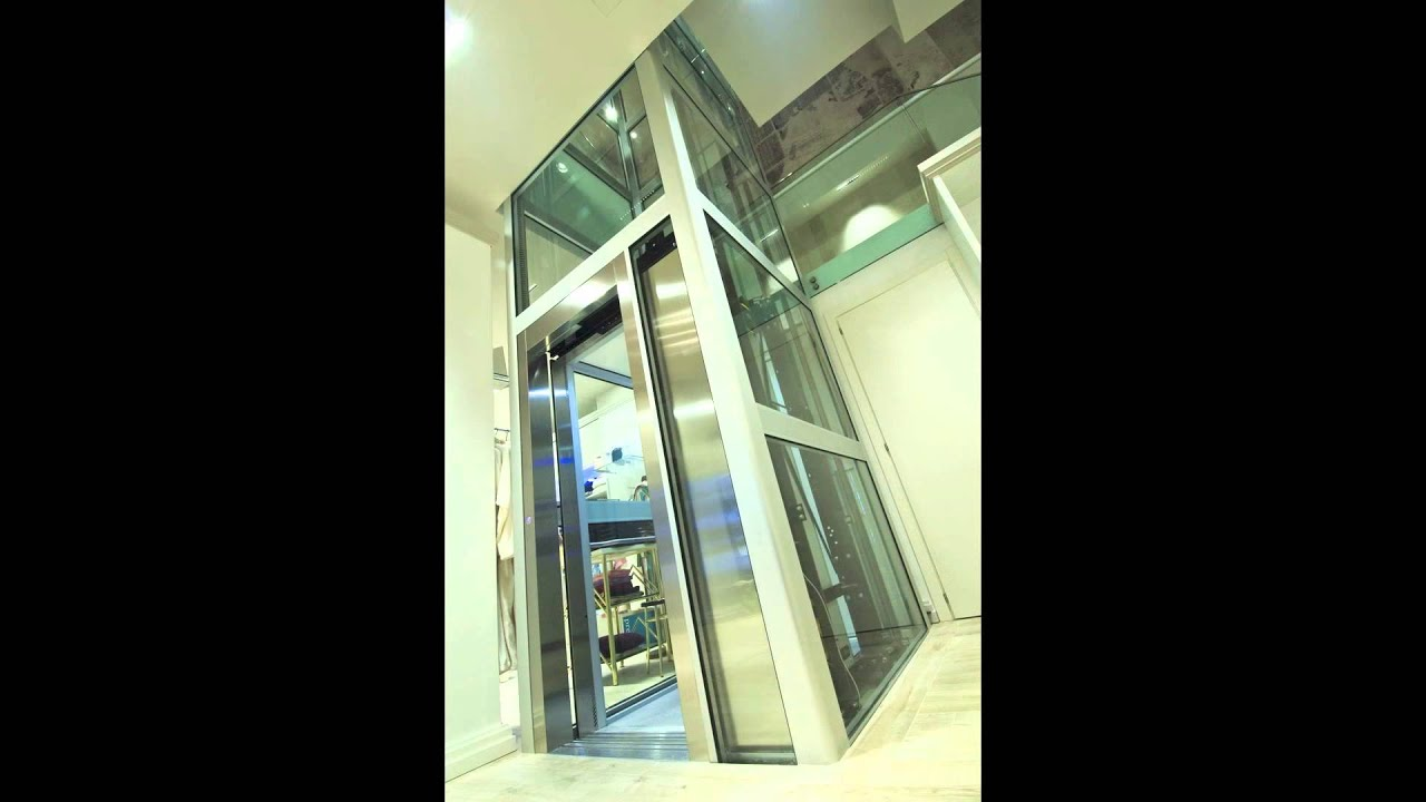 Freestanding, a new concept of Home Lift - Eltec Italy - YouTube