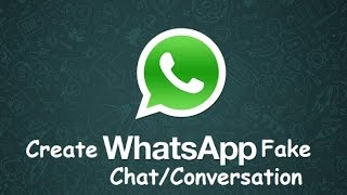 2017 sohbet whatsapp sahte oluşturma