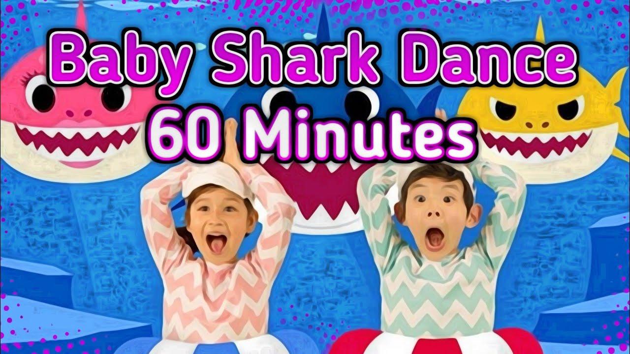Baby shark dance 60 min - YouTube