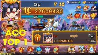 OMG 3Q - Trên Tay ACC TOP 1 Server 19 TEAM THỤC VIP 12 Lực Chiến Hơn 22 Triệu, Quá Thốn Quá Phê