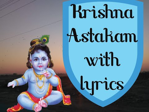 KRISHNA ASTAKAM WITH LYRICS : This Is What Professionals Do - By Avan Advaitam