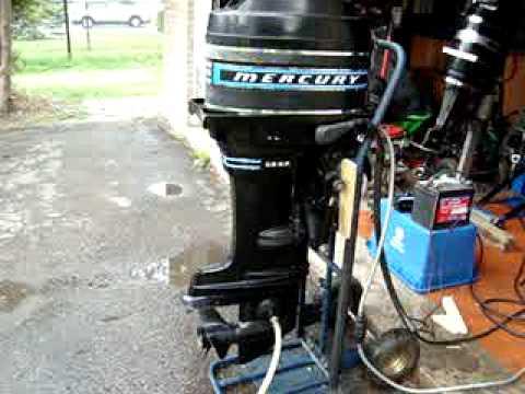 mercury ignition switch diagram 1992 dodge dakota tail light wiring 1974 merc 50 hp mint - youtube