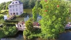 Hochzeitsvideo, Luftvideo Heilbronn / Trappensee:  Hochzeits-Ballons / Luftballons steigen lassen