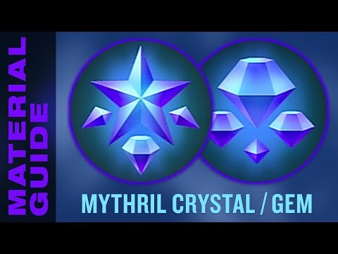 Farm Mythril Crystals and Gems FAST in Kingdom Hearts 3 (KH3 Material Synthesis Guide)
