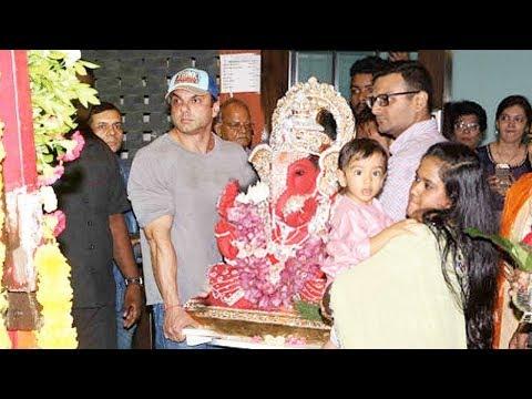 Vandan Dhol Tasha Pathak In Salman Khan's Ganpati Visarjan 2017.....