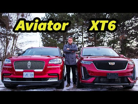 2020 Lincoln Aviator Vs 2020 Cadillac XT6| Comparison |Best Luxury 3 Row Seater?