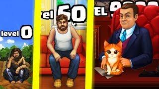HOW RICH IS THE RICHEST HIGHEST LEVEL HOMELESS MAN EVOLUTION? (9999+ HOMELESS SIMULATOR) l Magatramp