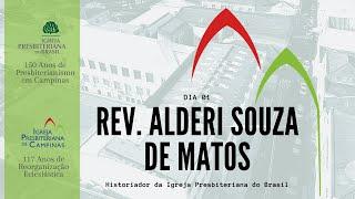 Palavra do Rev. Alderi Souza de Matos