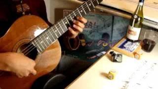 Hương Xưa, Cung Tiến. Bùi Thế Dũng-Classical Guitar Transcription. Trémolo