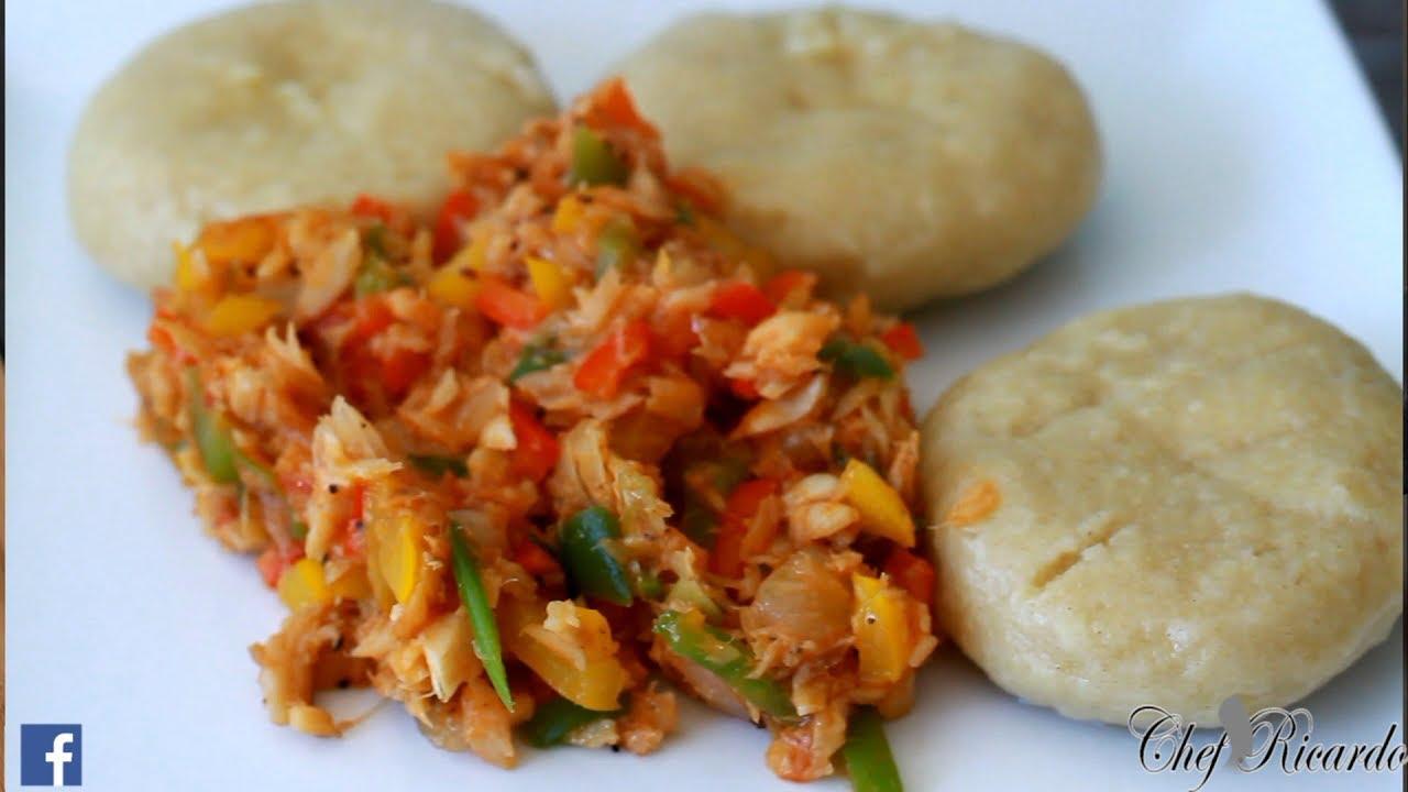Jamaican dumpling and selfish jamaican cooking salt fish for Jamaican salt fish