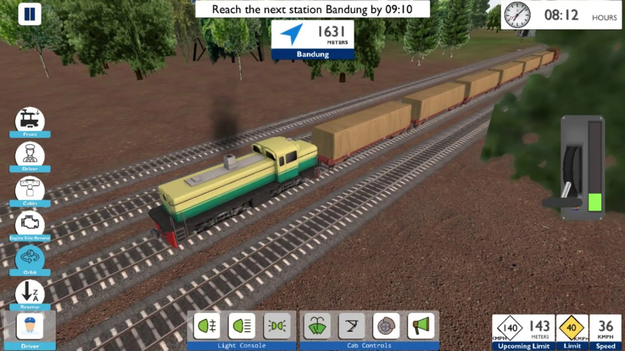 Permainan Kereta Api Indonesia Simulator