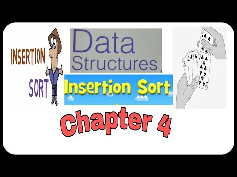Sorting Algorithm || Chapter 4 || Insertion Sort Logic and Programme in Hindi