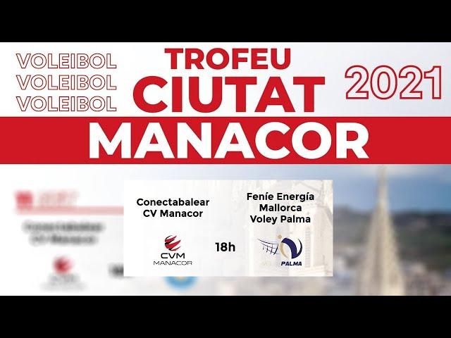 CONECTABALEAR CV MANACOR - FENIE ENERGIA MALLORCA VOLLEY PALMA