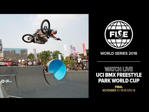 FWS CHENGDU 2018: UCI BMX Freestyle Park World Cup Final Men