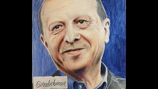 Recep Tayyip Erdoğan Çizimi