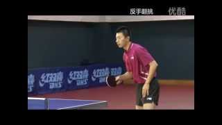 Forehand Flick And Forehand Topspin