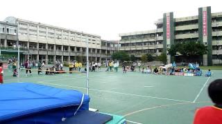 台北市雨聲國小田徑隊100北區運動會余文瀚跳高比賽亞軍英姿1