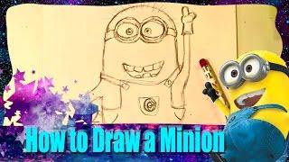 איך לצייר מיניון