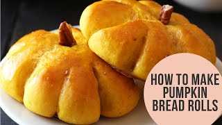 How to Make Pumpkin Bread Rolls (TONS of bread baking tips!)