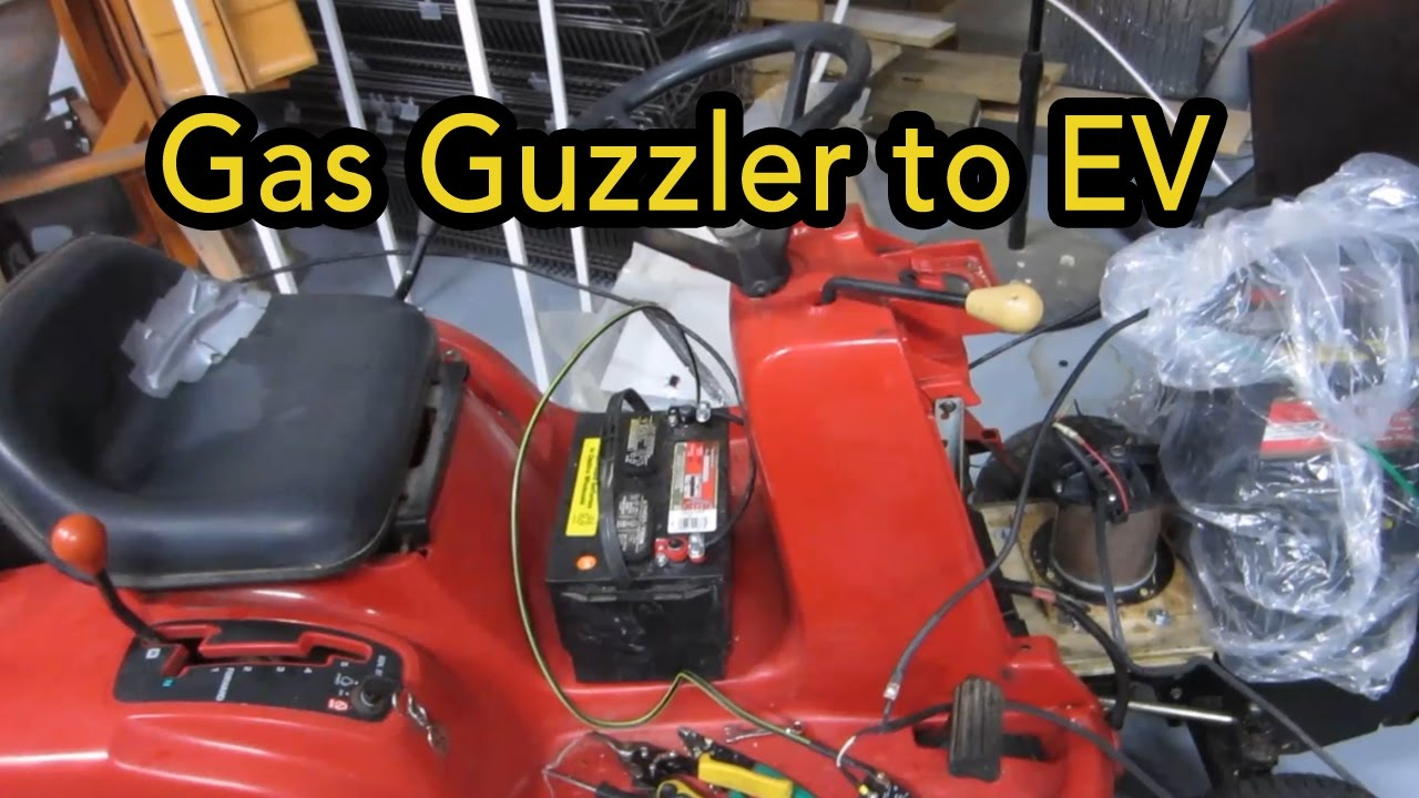 Lawn tractor to ev conversion electric vehicle part 1 youtube lawn tractor to ev conversion electric vehicle part 1 geenschuldenfo Image collections