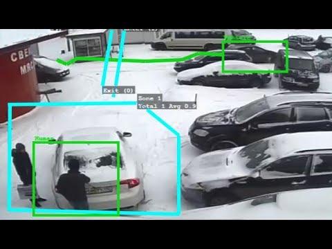 Car parking video analytics via CCTV software