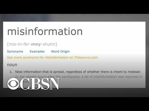 "Dictionary.com picks ""misinformation"" as word of the year"