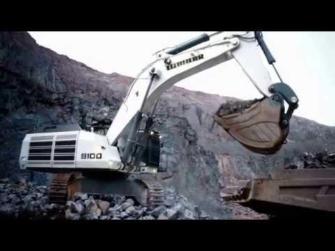 Liebherr - Mining Excavators R 9100 / R 9150