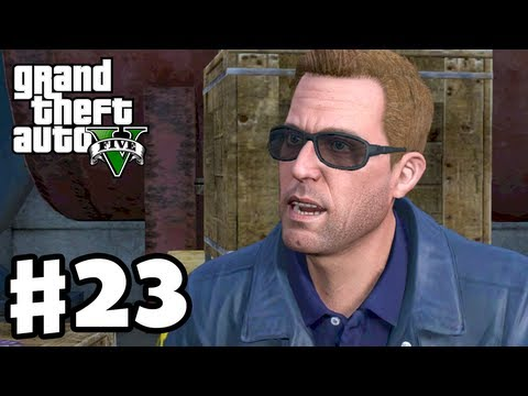Grand Theft Auto 5 - Gameplay Walkthrough Part 23 - FIB Job Setup (GTA 5, XBox 360, PS3)