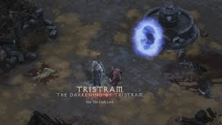 Diablo 3 - How to access Darkening of Tristram