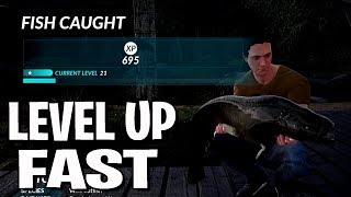 Level Up Fast - Monster Carp and Catfish - Fishing Sim World - Guide