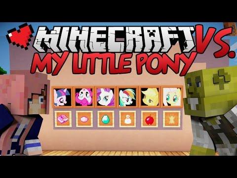 My Little Pony | Minecraft VS. Ep 19