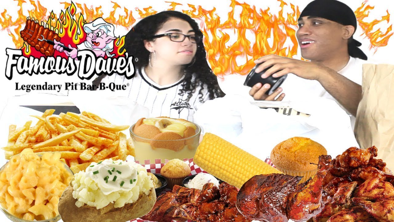 FAKE Friends vs REAL Friends!! | Famous Dave's BBQ Mukbang Eating Show | Cutting People Off Advice