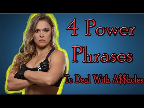4 Power Phrases How To Deal With Bullies