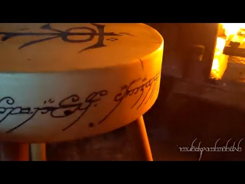How to make a 3 Legged Stool - LOTR Tolkien Milliput Projects Epoxy Resin