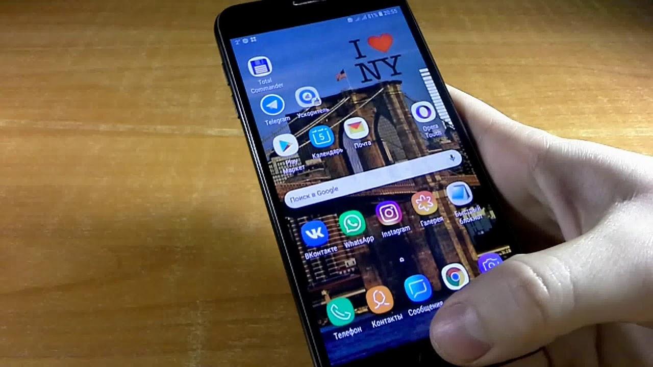 Обзор на Смартфон Samsung Galaxy J4 32GB SM-J400F (черный)