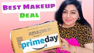 Makeup Under ₹100 | Amazon Prime Day Sale | Amazon Haul | JSuper Kaur
